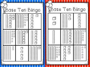 Base Ten Bingo