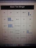 Base Ten Bingo Activity