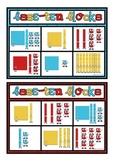 Base Ten Bingo - Hundreds Tens and Ones