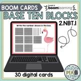 Base Ten Block Digital Task Cards