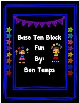 Base Ten Block Fun
