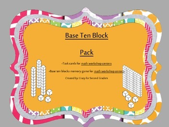 Base Ten Block Math Centers