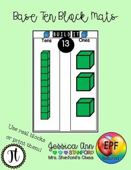 Base Ten Block Mats