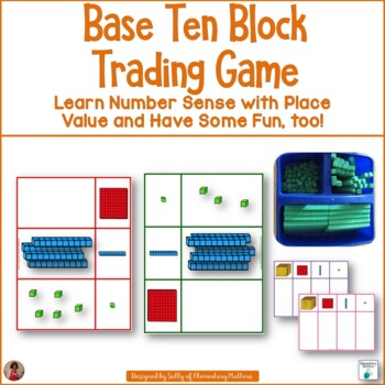Base Ten Block Place Value Trading Game