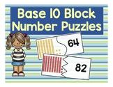 Base Ten Block Puzzles