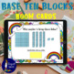 Base Ten Block Task Cards