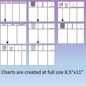 Base Ten Blocks Clip Art