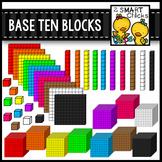 Base Ten Blocks Clip Art {Math Center Manipulatives}