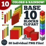 Base Ten Blocks Clipart • Math Place Value Base Ten Blocks