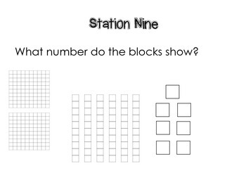 Base Ten Blocks FUN: Stations for your classroom!