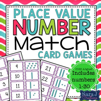 Place Value Game  {Numbers 1-30}