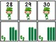 Base Ten Blocks Matching Leprechaun Theme