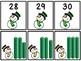 Base Ten Blocks Matching Snowman Theme