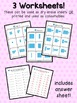 Base Ten Blocks: Ones and Tens Worksheets