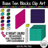 Base Ten Blocks / Place Value Clip Art  ~ 120 Images!!