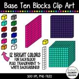 Base Ten Blocks / Place Value Clip Art  ~ 120 Images!!