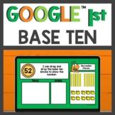 Base Ten Blocks Practice for Google Classroom™ for Distanc
