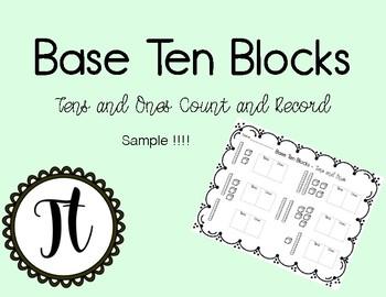 Base Ten Blocks  Sample