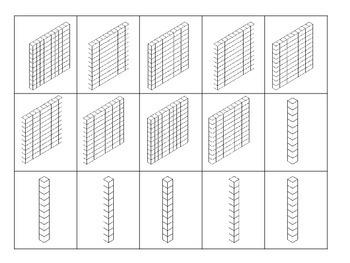 Base Ten Blocks---Three Digit Numbers