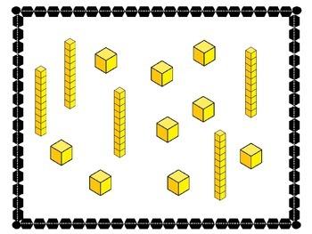 Base Ten Blocks---Two Digit Numbers