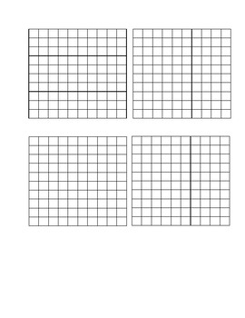 Base Ten Blocks and Place Value Mats