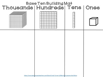 Base Ten Building Mats