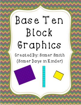 Base Ten Clip Art Graphics