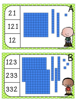 Place Value Clip-Its