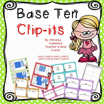 Place Value Clip-Its and More