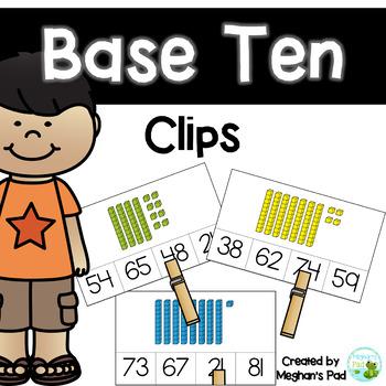 Base Ten Clips