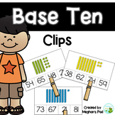 Base Ten Clips