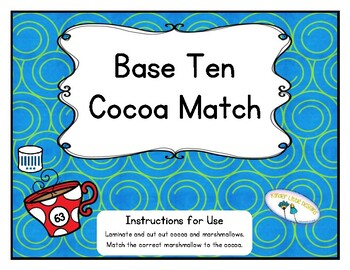 Base Ten Cocoa Match