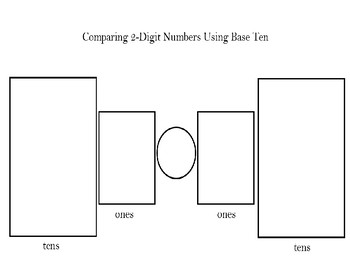 Base Ten Comparing Numbers Mat