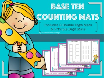 Base Ten Counting Mats