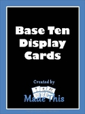 Base Ten Display Cards
