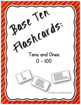 Base Ten Flashcards 0-100