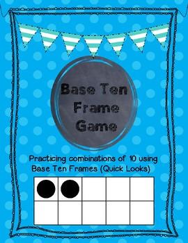 Base Ten Frame Game