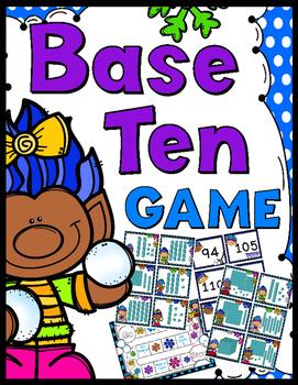 Base Ten Game - 30 Task Cards!