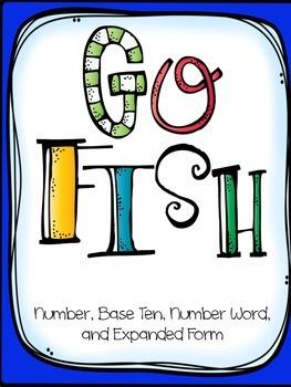 Base Ten Go Fish