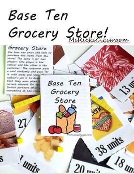 Base Ten Grocery Game