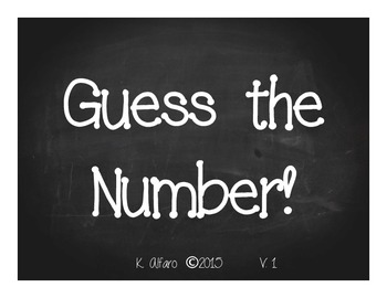 Base Ten: Guess That Number! V.1