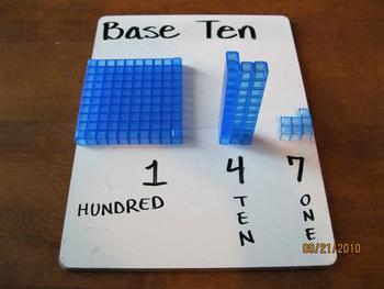 Base Ten Introduction and Examples