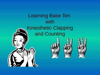 Base Ten (Kinesthetic Learning Style)