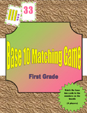 Base Ten Blocks Matching Game