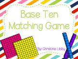 Base Ten Matching Game