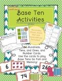 Base Ten Math Activity Pack