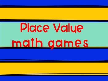 Base Ten Math Centers