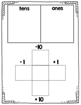 Base Ten Math Mats