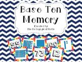 Base Ten / Place Value Memory