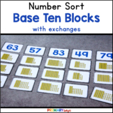 Base Ten Number Sort (A Place Value Game) {FREE}